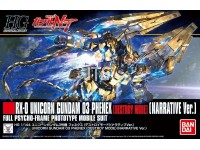 HG 213 RX-0 Unicorn Gundam 03 Phenex (Destoy Mode) (Narrative Ver.) Full Psycho-Frame Prototype 29965