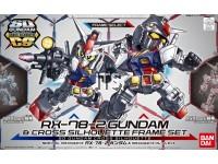 SD CS 01 RX-78-2 Gundam and Cross Silhouette Frame Set 28381