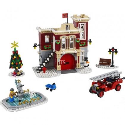 Winter Village Fire Station 36014