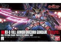 HG 199 Full Armor Unicorn Gundam (Destroy Mode/Red Color Ver.) 07581