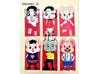 Cute Mouse Series Angpau (Red Pocket) 6pcs
