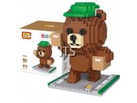 Brown Bear Courier Boy 9749