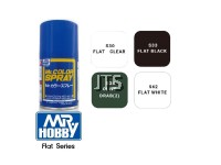 Mr Color Spray Flat Series