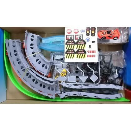Pull Back Super Track Racer (w/1car) 68852