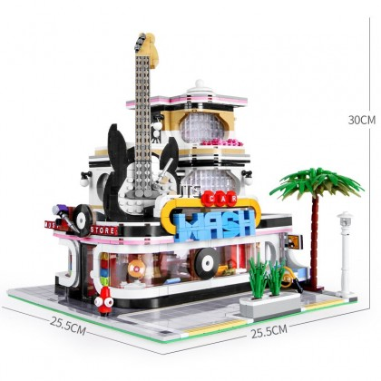 Guitar House (LED Advanced Set) 16002