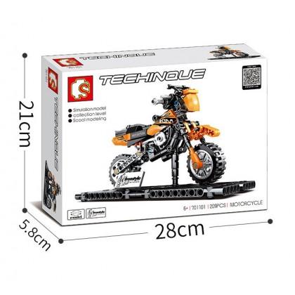 KTM Orange Motorcycle 701101