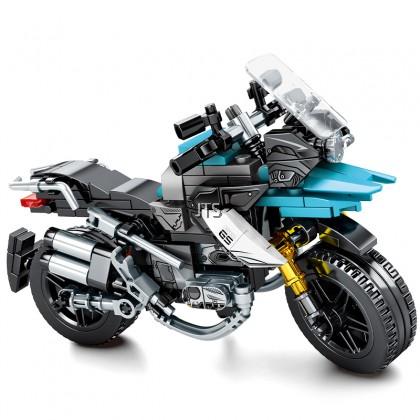 BMW Blue Waterbird Motorcycle 701108