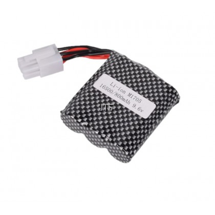 RC Rechargeable Battery 9.6V 16500