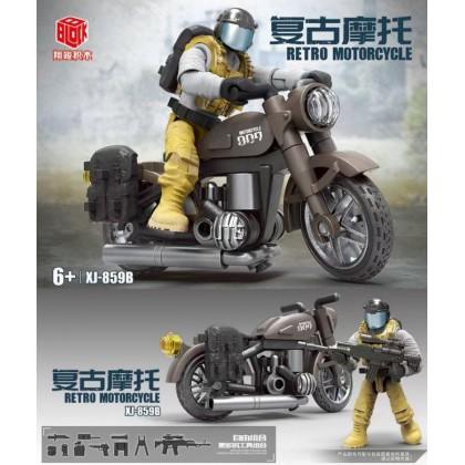 Retro Motorcycle XJ-859