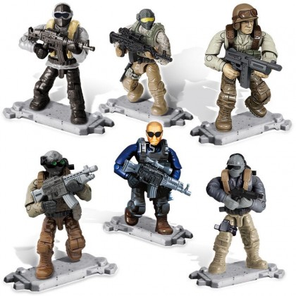 Urban Anti-terrorism Minifigures XJ-997