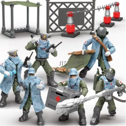 Anti Pandemic Medic Pioneer Minifigures XJ-966