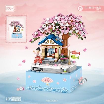 Cherry Blossom Music Box 1221