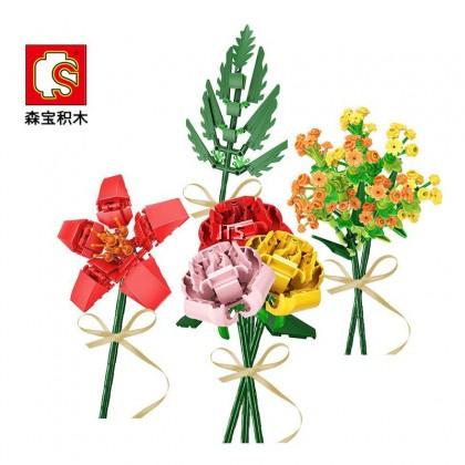 Flower Yellow Warbier 601238