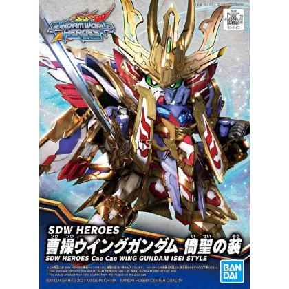 SDW Heroes 08 Cao Cao Wing Gundam Isei Style 61784