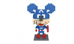 Mickey Mouse Captain America 9421