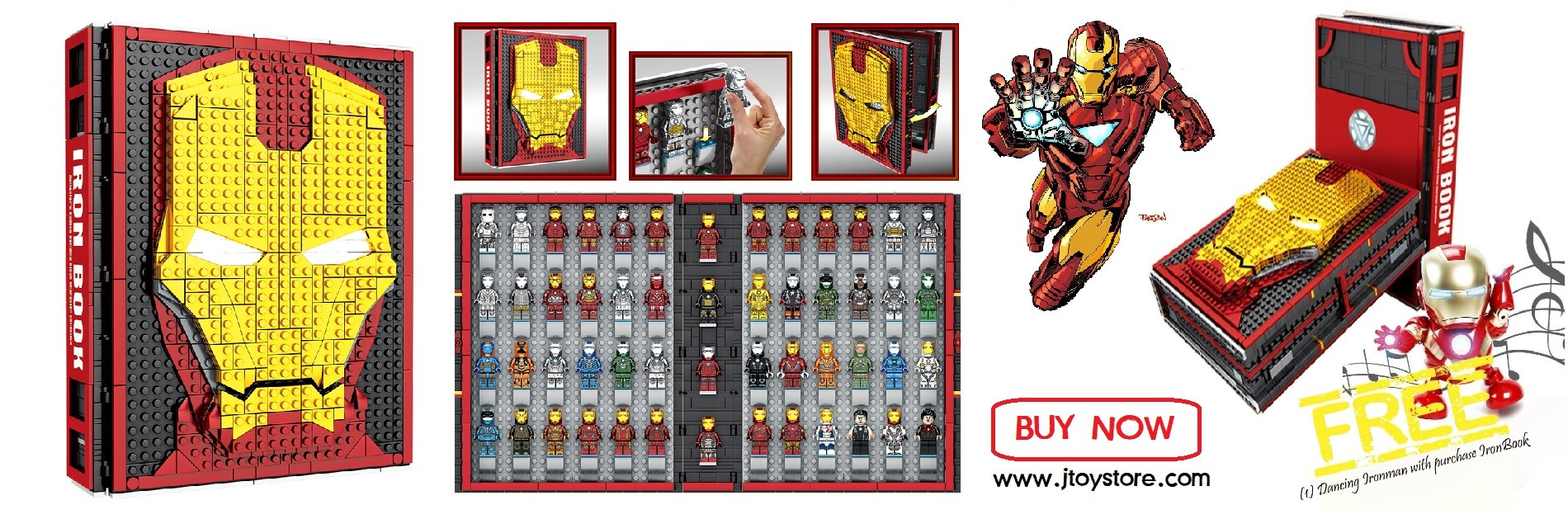 SEMBO SY1360 IronBook Minifigure
