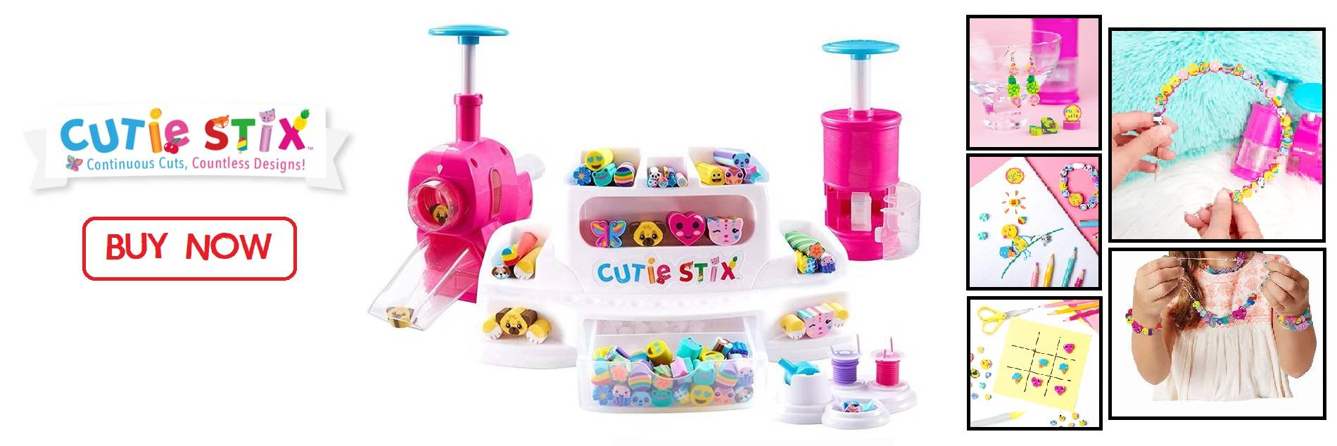 Cutie Stix Kids DIY Accessories Playset